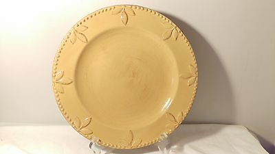 Signature Sorrento Wheat / Gold Dinner Plate (s)
