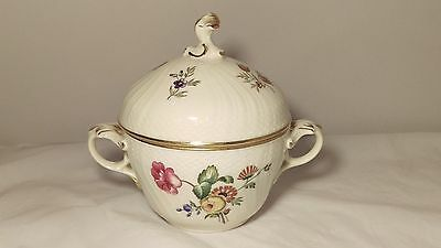 Royal Copenhagen Frijsenborg 910 1865 Sugar Bowl With Lid