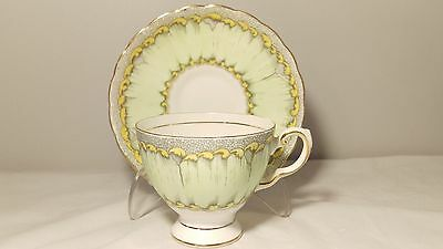 Tuscan Plant C9016 Cup and Saucer Set Hand Painted