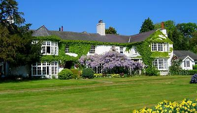 2 nights B&B Luxury en suite rooms.Historic Country House, Conwy, North Wales.