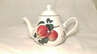 Queen's / Rosina - Hooker's Fruit Fine Bone China Large Teapot With Lid India