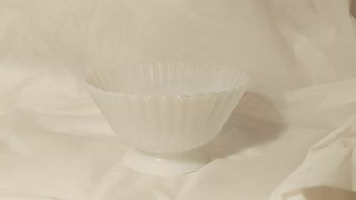 Macbeth Evans Glass Petalware Monax Sherbet Bowl - Open Sugar - Fruit - Exc.