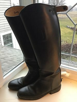 Swing Women's Tall leather Riding boots. Size 6 -Waldhausen -Germany