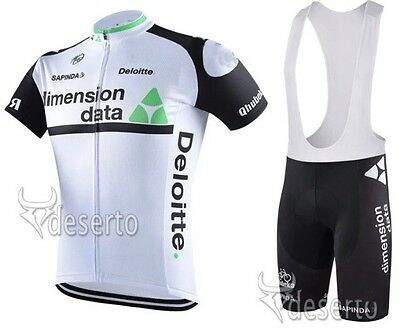 NEW TEAM DIMENSION DATA (Mark Cavendish)  Cycling Jersey With Bib Shorts