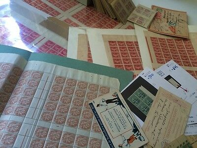 VENTE HIVER 1#LOT363: collection timbres semeuses Marianne dt feuilles carnets
