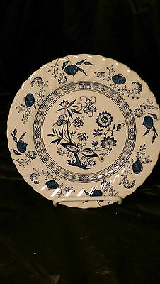 """Johnson Brothers Blue Nordic 7 3/4"""" Salad Plate (s) In Excellent Cond"""