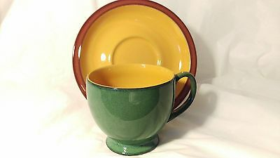 Denby SPICE Teacup Cup and Saucer Set (s)