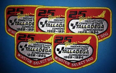 5 Lot 1994 NASCAR Talladega 500 Hat Jacket Racing Gear Patches Dale Earnhardt