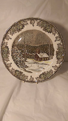 Johnson Brothers The Friendly Village England 9 3/4 Dinner Plate (s) Exc. Cond.