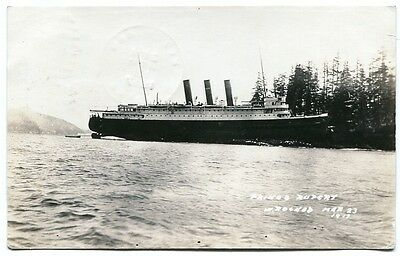RPPC SS Prince Rupert Ship Wreck British Columbia 3/23/17 Steamer Boat