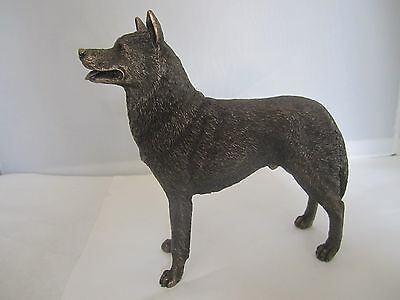Siberian Husky  figure cold cast bronze standing model by Veronese Designs