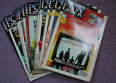 PCW User magazines June 1992 - June 1993.