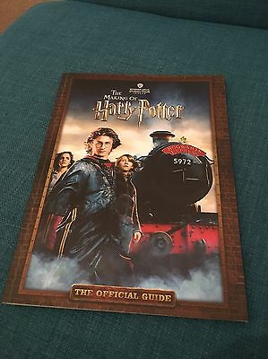 Rare Signed Harry Potter Making Of Official Guide