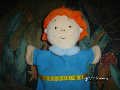 Caillou Sister Rosie Stuffed Puppet Doll 2002 Cinar