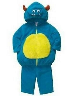 NEW Blue Monster Bubble Plush Halloween Costume by Carter's Boys 6-9 Mo.