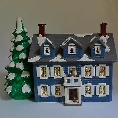Dept 56 Williamsburg House Snowhouse Series 1986