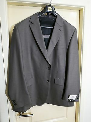 "Brand New Grey Suit Jacket - 50"" (127cm) + Suit Carrier - very smart"