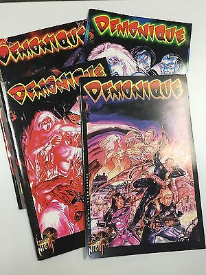 Demonique #1-4 Set / Lot of 4 issues (Mature title) (London Night)