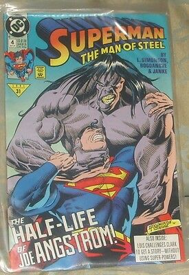 SUPERMAN THE MAN OF STEEL Issue 4 October 1991 DC Comics