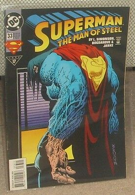 SUPERMAN THE MAN OF STEEL Issue 33 May 1994 DC Comics