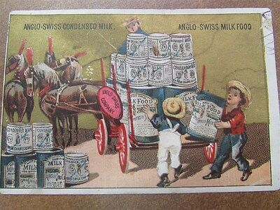 Antique Milk And Dairy Advertising Cards A-37