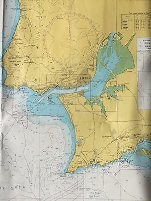 Admiralty Charts 3224, 89, 3636,3259, 3635, 3260 for PORTUGAL
