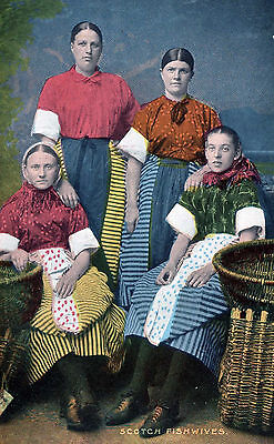 Postcard.SCOTCH FISHWIVES Scotland