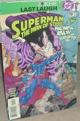 SUPERMAN THE MAN OF STEEL Issue 119 December 2001 DC Comics