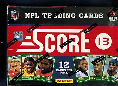 2013 Score NFL Football Sealed Box of 11 Packs 12 Cards PER Le'VEON BELL ROOKIE