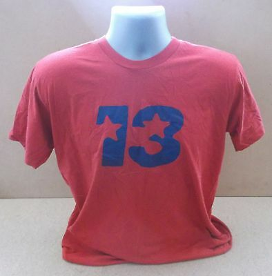 BLUR 13 official UK red short sleeve t-shirt NEW/UNWORN Large