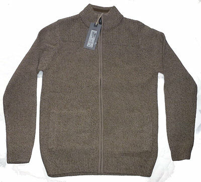 M&S Men's Zip-up jacket/jumper (machine washable) NWT