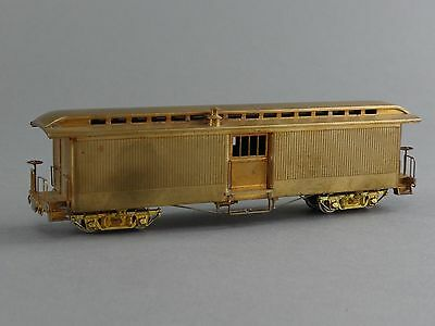 HOn3 SCALE BRASS PFM UNITED OLD TIME BAGGAGE CAR UNPAINTED JAPAN