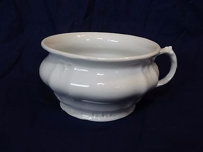 Antique Chamber Pot Royal Ironstone China Johnson Bros England