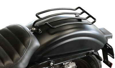 Gepäckträger schwarz Chopper Cruiser Custombike Rear Luggage Rack Bike