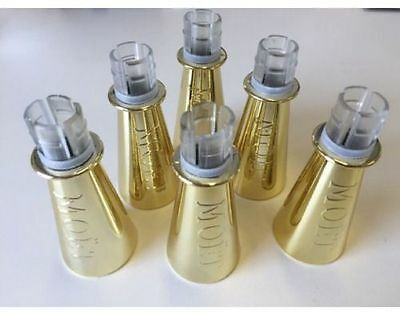 GENUINE MOET CHANDON Mini Champagne Sipper x 6 Festivals, Parties, Weddings