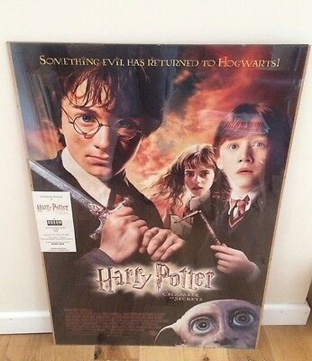 Harry Potter 2. Cast And Crew Screening Ticket And Poster