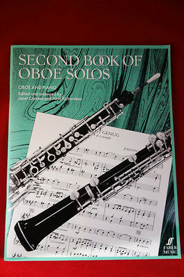 Second Book of Oboe Solos - Janet Craxton and Alan Richardson