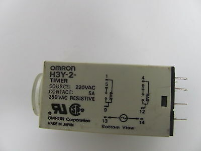 OMRON relay 8pin H3Y-2 Timer