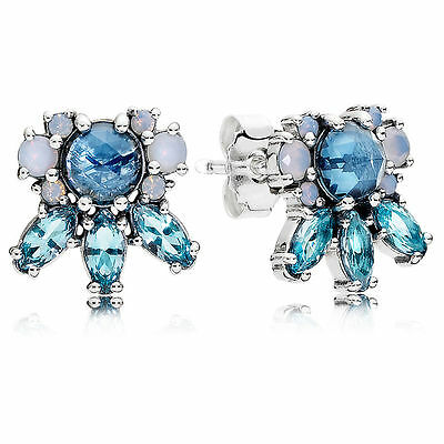 Genuine Authentic Pandora Patterns Of Frost Stud Earrings 290731Nmbmx