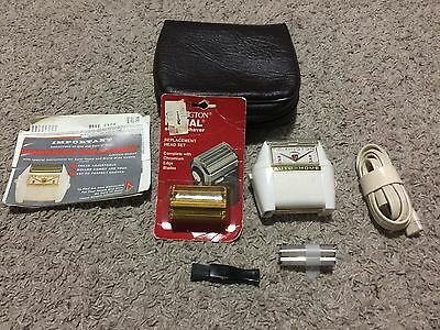 Vintage Mid-Century Remington Roll-A-Matic Electric Shaver tested