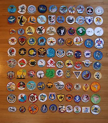 Reproduction USAF NAVY USMC Aviation and Ship Patch Lot of 100