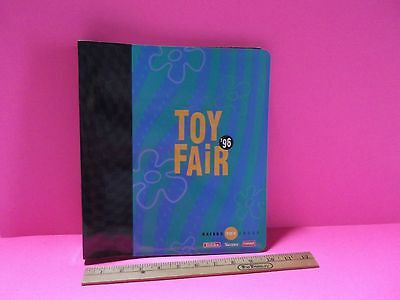 4 Hasbro Toy Fair 1996  Catalogs in Binder all Look to be in Good Condition
