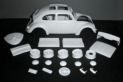 1957 VW OVAL WINDOW SUNROOF RESIN CONVERSION KIT! for 1/24 TAMIYA 1966 VW KITS