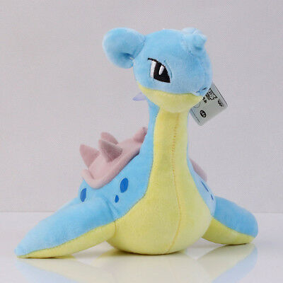 Pokemon Center 8inch Lapras Soft Plush Doll Toy Great Gift