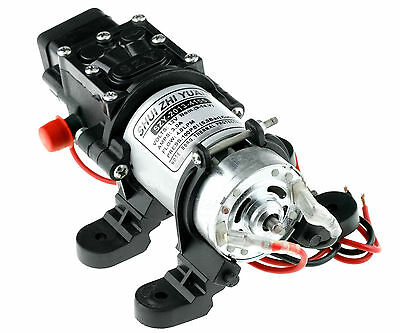 High Stable Pressure 12V 3.0 AMP Draw Diaphragm Water Pump for RV CAR BOAT