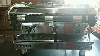 commercial coffee machine Conti 2 group.