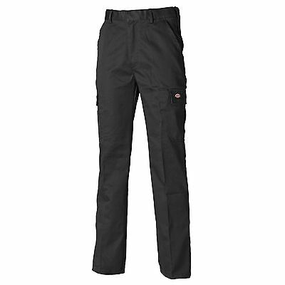 Dickies Redhawk Mechanics Chino Trousers Black - Size 38 / Regular Leg