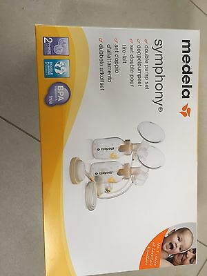medela symphony double pump set for breast feeding electric