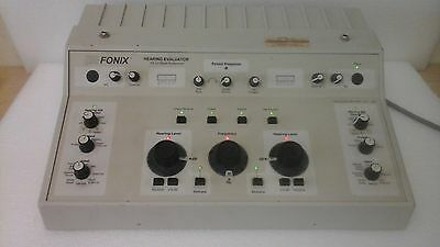 Fonix Fa-10 Clinical Audiometer Hearing Tester Aide 2010 Calibrated Msr West Inc