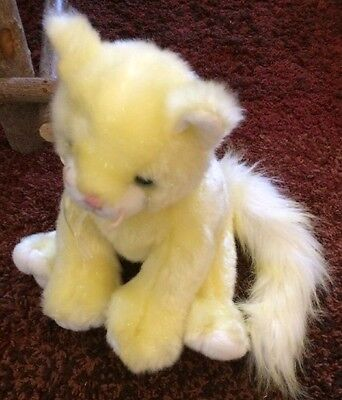 Ty Classic Yellow Cat Plush Named Glitz from 2003